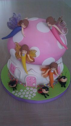 Fairy cake by ALL SWEET DESINGS...