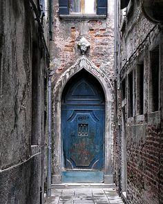 Old Door Venice Italy Fine Art Photo Print 8x10 by snapcandyfoto, $34.00