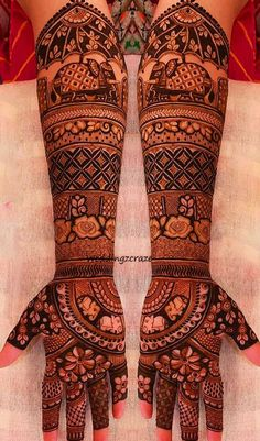 Best 12 Nowadays brides try Wedding Mehndi Designs with different motifs. As a result elephant styled wedding mehndi designs really looks gorgeous. Mehandi Designs Images, Arabic Bridal Mehndi Designs, Wedding Henna Designs, Engagement Mehndi Designs, Indian Mehndi Designs, Mehndi Designs 2018, Henna Art Designs, Mehndi Design Pictures, Elephant Henna Designs