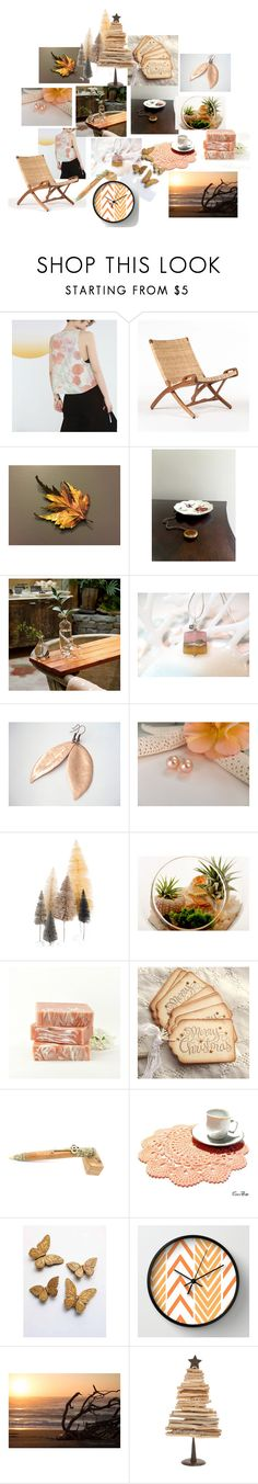 Have a Merry Little Christmas by inspiredbyten on Polyvore featuring Cody Foster & Co., WALL and Aynsley