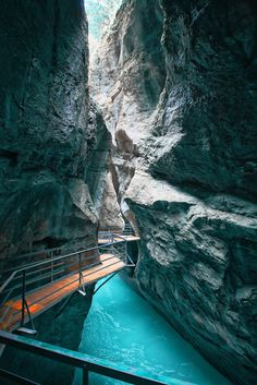 Aare Gorge, Switzerland - Explore the World, one Country at a Time. http://TravelNerdNici.com