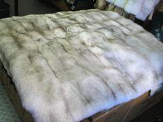 Fur Bedding, Fur Accessories, Fur Blanket, Soft Blankets, Fox Fur, Bed Spreads, Shag Rug, Furs, Blue