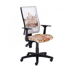 Работен стол NATURA Gatto - Бял