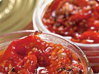 Senzační omáčka z pečených rajčat // michopulu Chili, Salsa, Food And Drink, Soup, Treats, Ethnic Recipes, Food Treat, Eyes, Blog