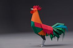 Disfraces de cartón y animales y objetos de papel para Bandhan Bank, India.Cardboard costumes, and paper animals and objects for Bandhan Bank, India