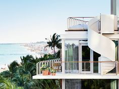 In the increasingly buzzy Mid-Beach section of Miami Beach, Ian Schrager's latest EDITION hotel is a cut above the rest of the neighboring properties, with a restrained white and gold interior and two Jean-Georges Vongerichten restaurants. There are also two huge swimming pools, a 9-treatment room spa, an ice-skating rink and a bowling alley—all on a stretch of perfect Miami beachfront. Hot List 2015 - Beachside Escapes