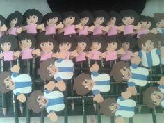 Ponteira de lapis Dora Aventureira