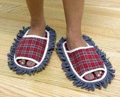 bye-bye dust bunnies ;) -- Mop Slippers