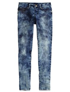 Dye Effect Glitter Jeggings | Girls Jeans Clothes | Shop Justice