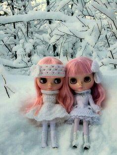 Hoy fuimos a la nieve mi Linda hermana y yo
