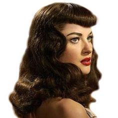 BETTIE PAGE Clip on Fringe Bangs Med/Thick - 100% human hair free colour match service. Undetectable and real looking rockabilly. by PERFECTFRINGE on Etsy https://www.etsy.com/listing/242131301/bettie-page-clip-on-fringe-bangs