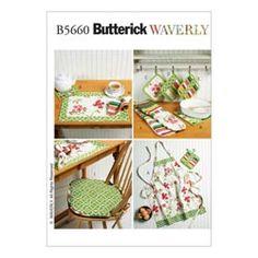 Kuchyně – doplňky, Butterick 5660