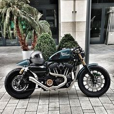 Custom Harley - Cafe Racer
