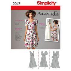 Simplicity 2247 Women's Dress