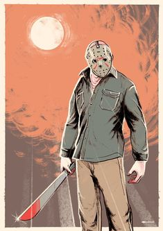Scary looking adorable Head turns and looks amazing Jason Voorhees as never seen before All Horror Movies, Horror Movie Posters, Horror Films, Scary Movies, True Blood Season 3, Jason Voorhees Figure, Slasher Movies, Horror Artwork, Horror Icons