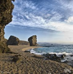 playa de Los Muertos, Carboneras, Almería.