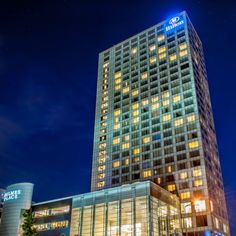 Hilton Warsaw Hotel and Convention Centre in Warszawa, Poland