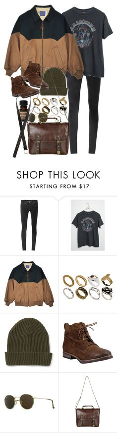 """""""Untitled #10004"""" by nikka-phillips ❤ liked on Polyvore featuring Helmut Lang, Brandy Melville, ASOS, Aéropostale, Diba, Lab, Ray-Ban and H&M"""