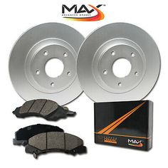 2006 2007 2008 Fits Nissan Murano OE Replacement Rotors w//Metallic Pads R