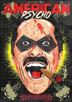Butcher Billy's American Psychos Bloody Project by Butcher Billy, via Behance American Psycho, Memories Of Murder, Art Of Noise, Space Ghost, Image Fun, Pop Culture Art, Arte Pop, Art Graphique, Art Mural