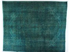 Turquoise Overdye Rug OD2314