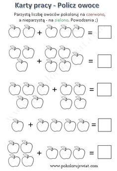 Worksheets - Addition in range of 10 - Color the World Math Addition Worksheets, First Grade Math Worksheets, Kindergarten Math Activities, Preschool Writing, Numbers Preschool, Kindergarten Worksheets, Abc Worksheets, Math For Kids, Count