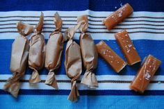 Homemade caramels! These are fantastic! I've made them a lot this holiday season and covered them in chocolate =D