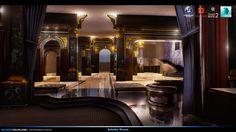 """""""Interior"""" Concept Art - 3D Environment, Brandon Volpe on ArtStation at https://www.artstation.com/artwork/yob3O"""