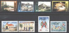 Stamps with Architecture, Cactus, Aids, Cave from Aruba, product #177108