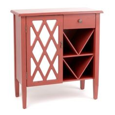 For more kitchen storage. Would math my 50's pink and red tile.