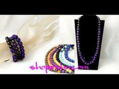 シャンバラネックレス3連ブレスレット 8色 Earrings, Jewelry, Fashion, Ear Rings, Moda, Stud Earrings, Jewlery, Jewerly, Fashion Styles