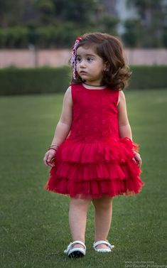 Beautiful Embroided Red Rose dress with flares from KIDSDEW, perfect party wear on every occassion is on limited period sale Baby Frocks Party Wear, Kids Party Wear Dresses, Baby Girl Frocks, Kids Dress Wear, Baby Girl Party Dresses, Kids Gown, Frocks For Girls, Toddler Girl Dresses, Little Girl Dresses