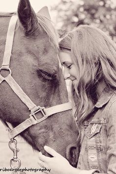Senior picture! With my horse or show heifer!