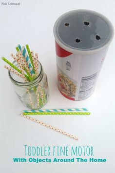 Toddler Fine Motor – With Objects Around The Home