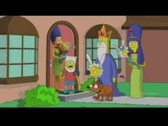 Ever Wonder What the Simpsons Would Look Like in Other Animated Franchises?
