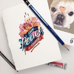 Un set de acuarelas, algunos artículos básicos de papelería y sumente brillante, son todo lo que la diseñadora gráficaJune Digann necesita para crear hermosas e inspiradoras obras de arte tipográfico. El proyecto de Digannconsiste en publicar una cita diaria dentro de su cuenta de Instagram con motivos, formas y colores de la naturaleza para alegrar …