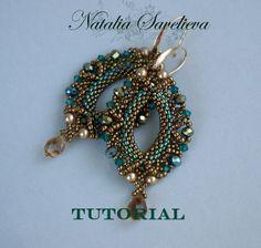 Beading Tutorial Emerald Earrings Jewelry Tutorial Bead