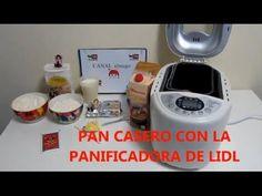 Hacer pan casero con la panificadora de Lidl - YouTube