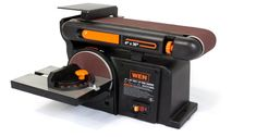 WEN 6502 4x36-Inch Belt and 6-Inch Disc Sander with Cast Iron Base 4,3amp 90degr #WEN