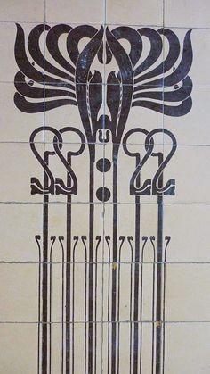 Majolica House. Linke Wienzeile 38-40 Viena. Otto Wagner