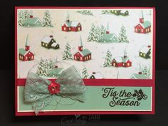 Stampin' Up!  Home for Christmas for Sunday Stamps