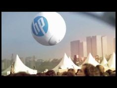 HP Photo Ball, great example of coming up with a relevant reason for a particular brand to be at an event rather than just as a badging exercise.