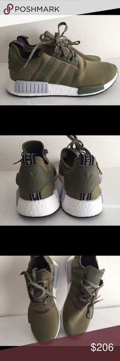 new products 3929d 612a9 Adidas NMD R 1 Olive sz 10.5 Brand new with original box Adidas Shoes  Sneakers Calzado
