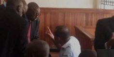 Welcome to Victor Eke's blog: Biafrian leader Nnamdi Kanu arraigned in court - Photos.