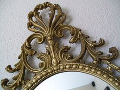 Hey, I found this really awesome Etsy listing at http://www.etsy.com/listing/91654209/vintage-wall-mirror-rare-baroque-ornate