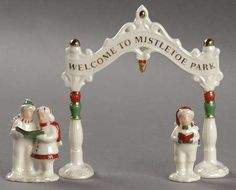 Lenox China Mistletoe Park Village at Replacements, Ltd
