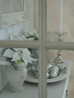 Lovely look for shabby Christmas Hjerter og Hvite Liljer