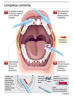 Aprende a limpiarte correctamente los dientes. Cepillado de dientes. Odontología #smilesolutions #dental