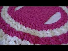 how to crochet a simple BOLERO/SHRUG for children with step by step method - YouTube