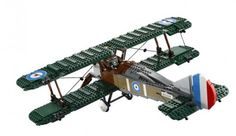 LEGO Announces Upcoming Sopwith Camel Biplane Model [Video]